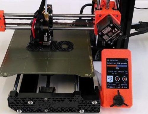 Wir haben Zuwachs bekommen: einen 3D-Drucker